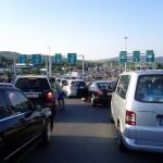 Гужва на  Богородица    Околу 15 000 луѓе чекаат по неколку часа за влез во Грција