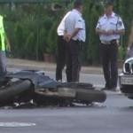 Тешко повреден мотоциклист во сообраќајка во Скопје